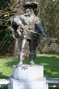 Statue de d'Artagnan à Maastricht