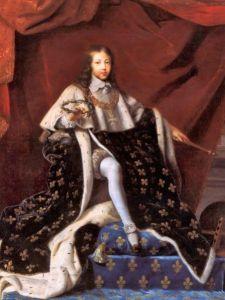 Portrait du jeune Louis XIV