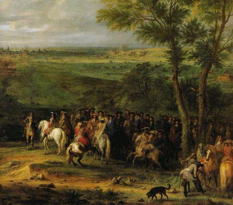Louis XIV au siége de Maastricht